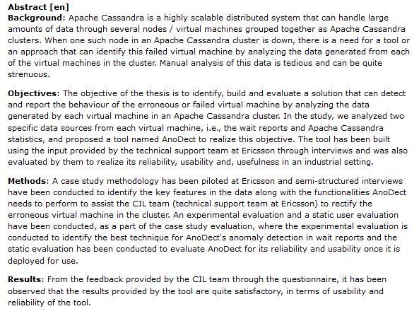 دانلود پایان نامه : تجزیه و تحلیل داده های تولید شده توسط ماشین مجازی
