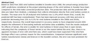 دانلود پایان نامه : تجزیه و تحلیل و پیش بینی های AEP در رابطه با داده های توربین های بادی تجاری