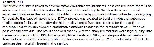 دانلود پایان نامه : تجزیه و تحلیل پسماندهای صنعت منسوجات در اروپا