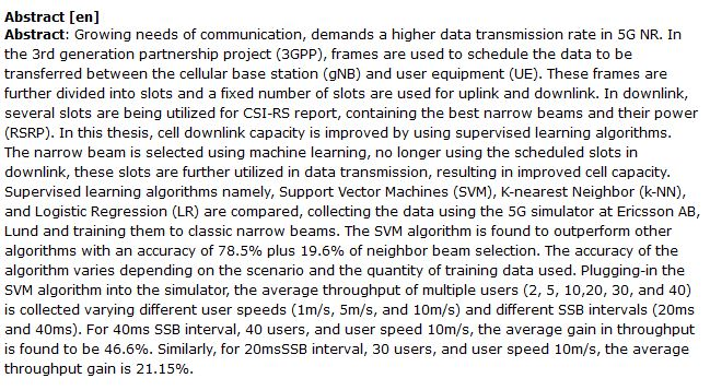 دانلود پایان نامه : تصفیه و ردیابی پرتو گیرنده در شبکه دسترسی رادیویی 5G NR RAN