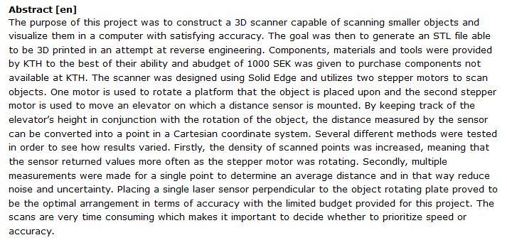 دانلود پایان نامه : ساخت اسکنر سه بعدی جهت مدل سازی اشیا کوچک