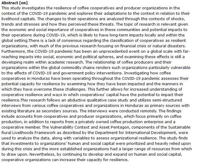 دانلود پایان نامه : مدیریت بحران و تقویت انعطاف پذیری تعاونی ها در همه گیری کرونا
