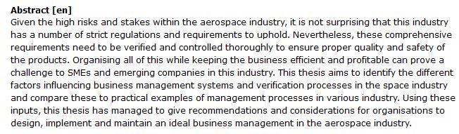 دانلود پایان نامه : مطالعه تطبیقی فرآیندهای استانداردسازی در صنعت هوافضا با سایر صنایع