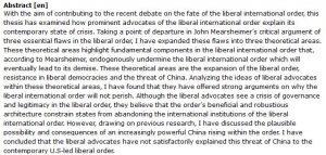 دانلود پایان نامه : مطالعه کیفی در مورد سرنوشت نظم لیبرال بین المللی و بحران های معاصر آن