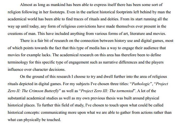 دانلود پایان نامه : کشف و بررسی مفاهیم پاگانیسم در بازی های دیجیتالی