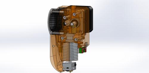 دانلود پروژه طراحی اکسترودر پرینتر سه بعدی