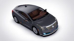 دانلود پروژه طراحی خودرو برقی کادیلاک ELR