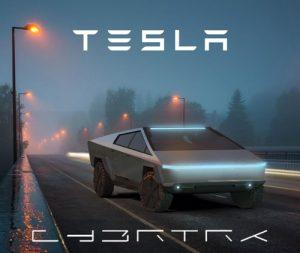 دانلود پروژه طراحی خودرو وانت تسلا سایبرتراک