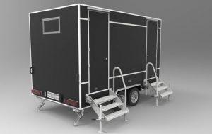 طراحی دستشویی توالت wc تریلر مسافرتی