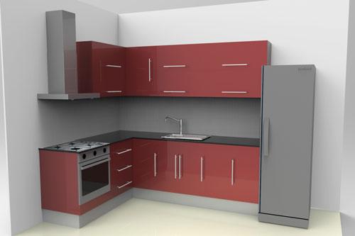 دانلود پروژه طراحی کابینت مدرن آشپزخانه (2)