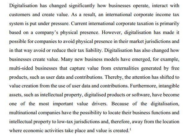 دانلود پایان نامه : بررسی چالش های مالیات بر درآمد مشاغل در اقتصاد دیجیتالی