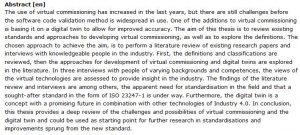 دانلود پایان نامه : بررسی شرایط فعلی و آینده استانداردهای موجود برای توسعه راه اندازی مجازی خطوط تولید و دوقلوی دیجیتال