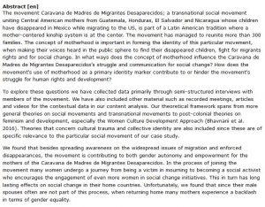 دانلود پایان نامه : بررسی مفهوم مادر در شکل گیری هویت جنبش اجتماعی فراملی مادران آمریکای مرکزی