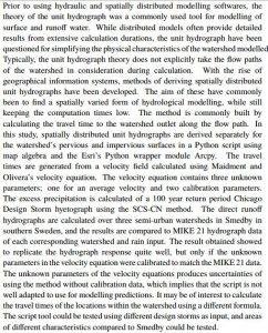 دانلود پایان نامه : بررسی یک روش مبتنی بر GIS برای استخراج هیدروگراف و مدل سازی هیدرولوژیکی