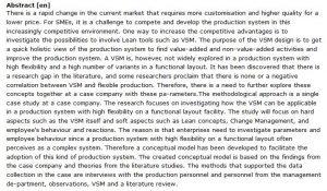دانلود پایان نامه : بررسی یک مدل مفهومی برای سیستم های مانا (VSM) در یک سیستم تولید با جریان موازی مواد
