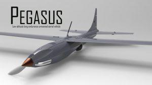 دانلود پروژه طراحی هواپیمای بدون سرنشین Pegasus UAV